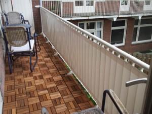 balkondoek voor aan balkonhekwerk